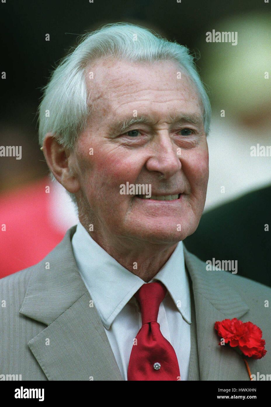 LAWRENCE BATLEY. Rennen-SPONSOR 1. September 1994 Stockbild