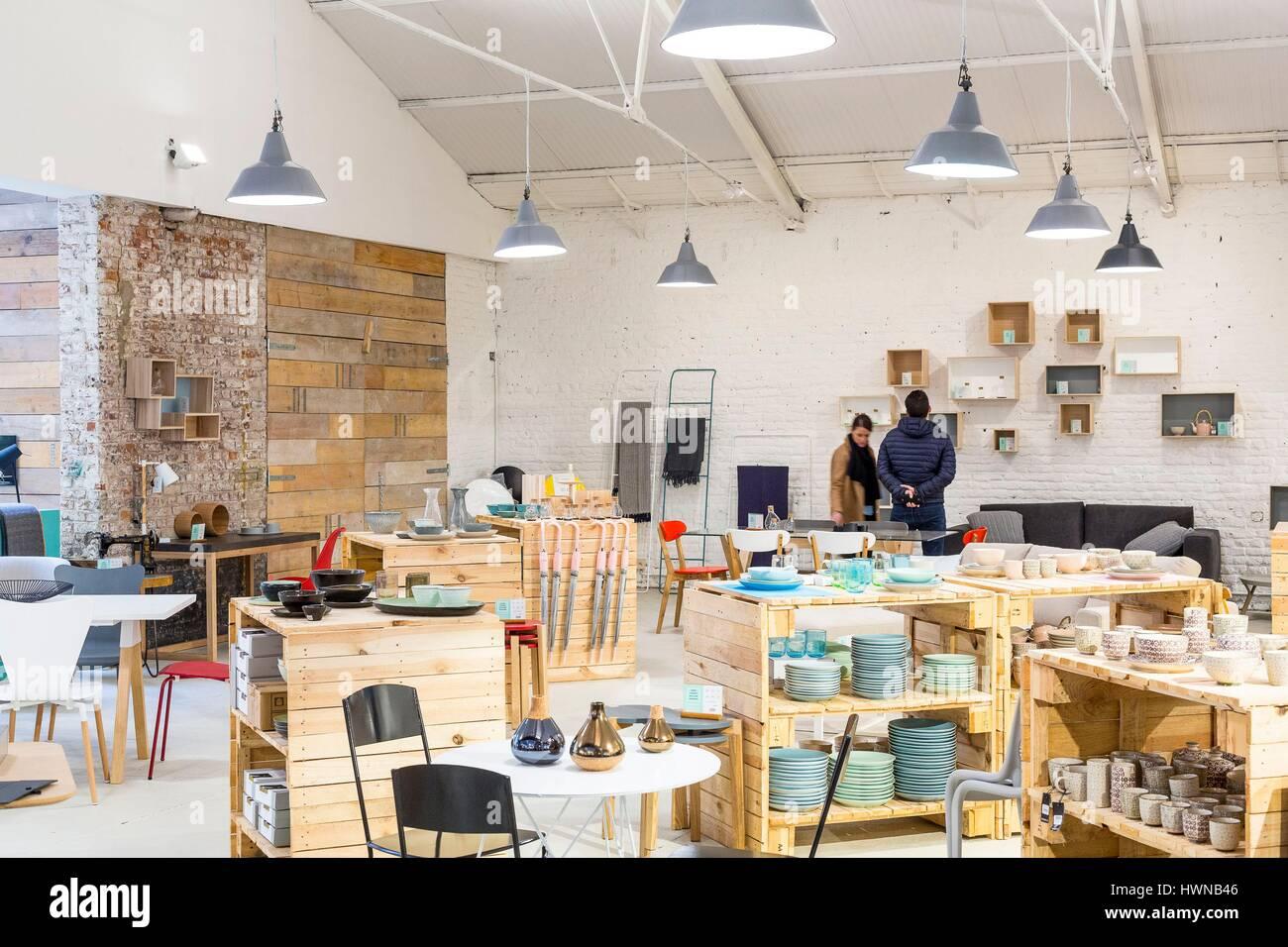 Chatelain, Ixelles, Brüssel, Belgien-Bezirk, Dekoration Shop Lulu ...