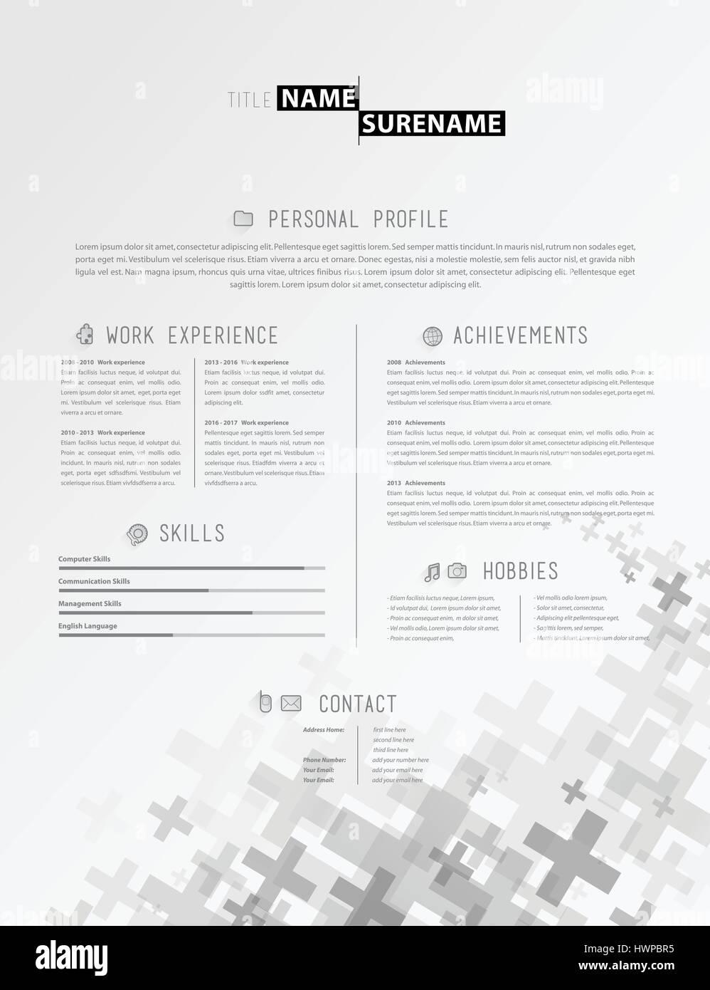 Gemütlich Plain Text Lebenslauf Vorlage Galerie - Entry Level Resume ...
