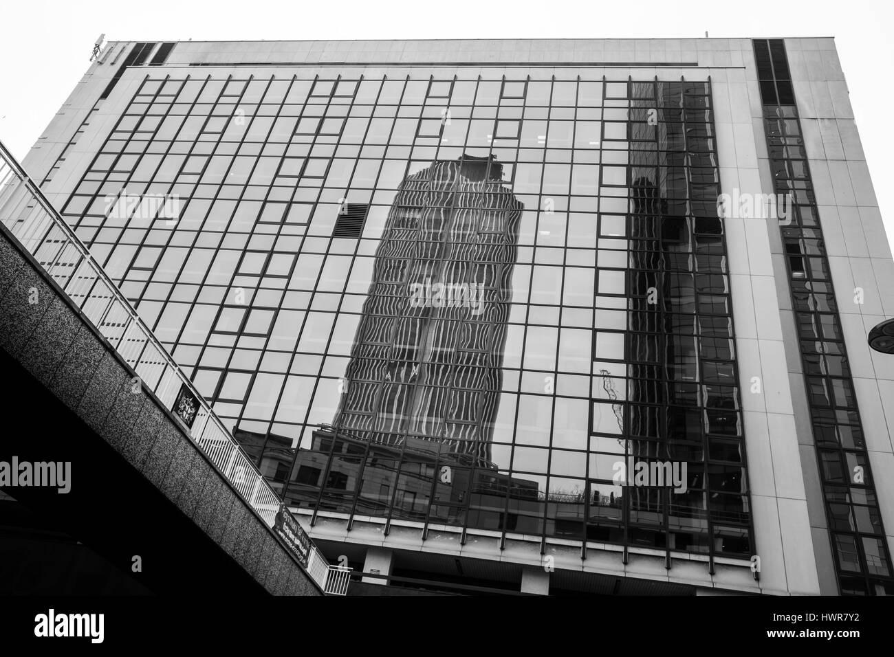 Tower 42, City of London, England. Stockbild