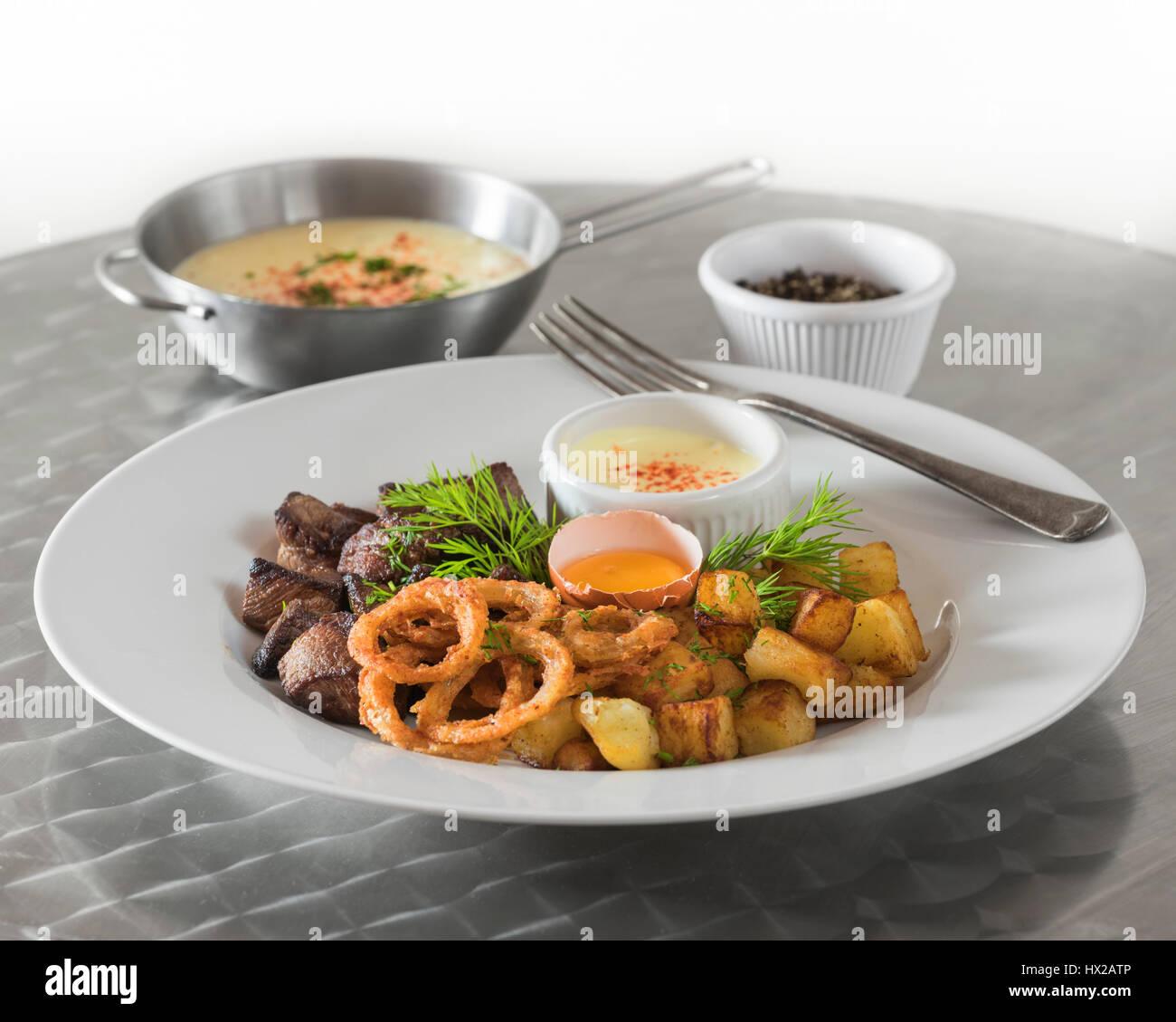 rindfleisch rydberg schwedische rindfleisch und kartoffel gericht schweden essen stockfoto. Black Bedroom Furniture Sets. Home Design Ideas