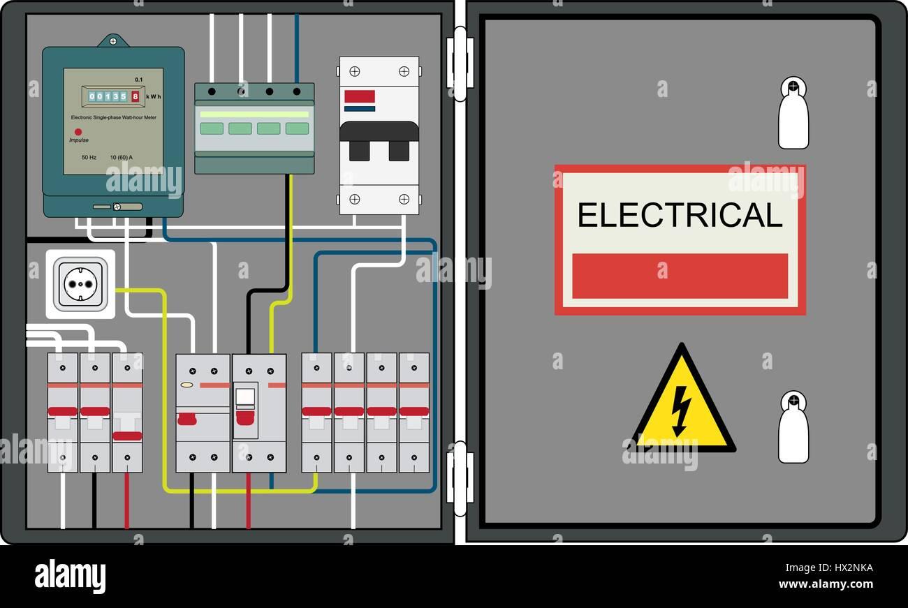Großartig Leistungsschalter Diagramm Ideen - Elektrische Schaltplan ...