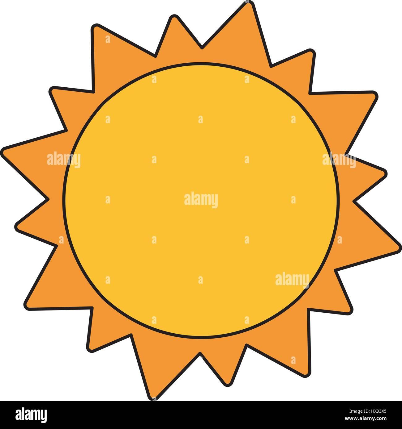 Sonne Sonnensystem Astronomie Stockbild