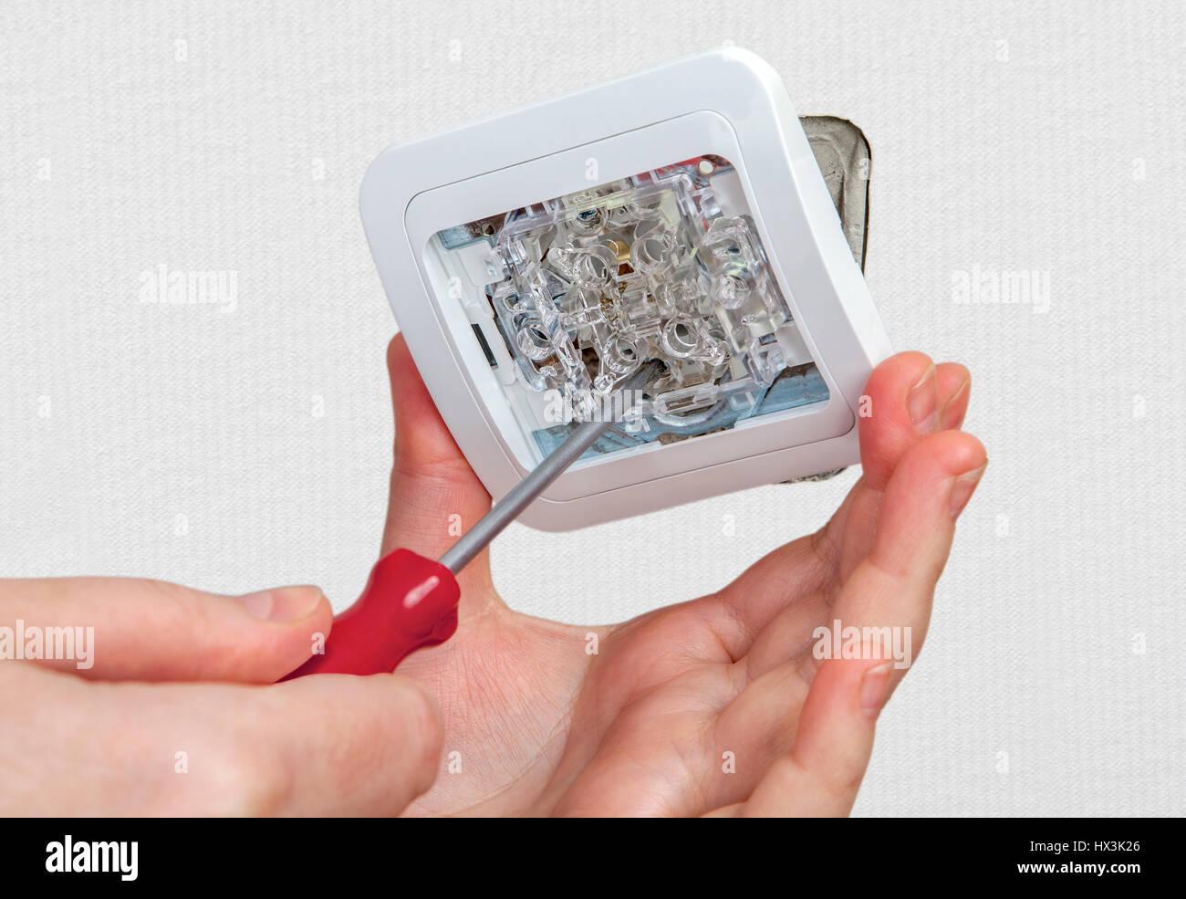 Großartig Reparieren Sie Drahtwickel Ideen - Elektrische Schaltplan ...