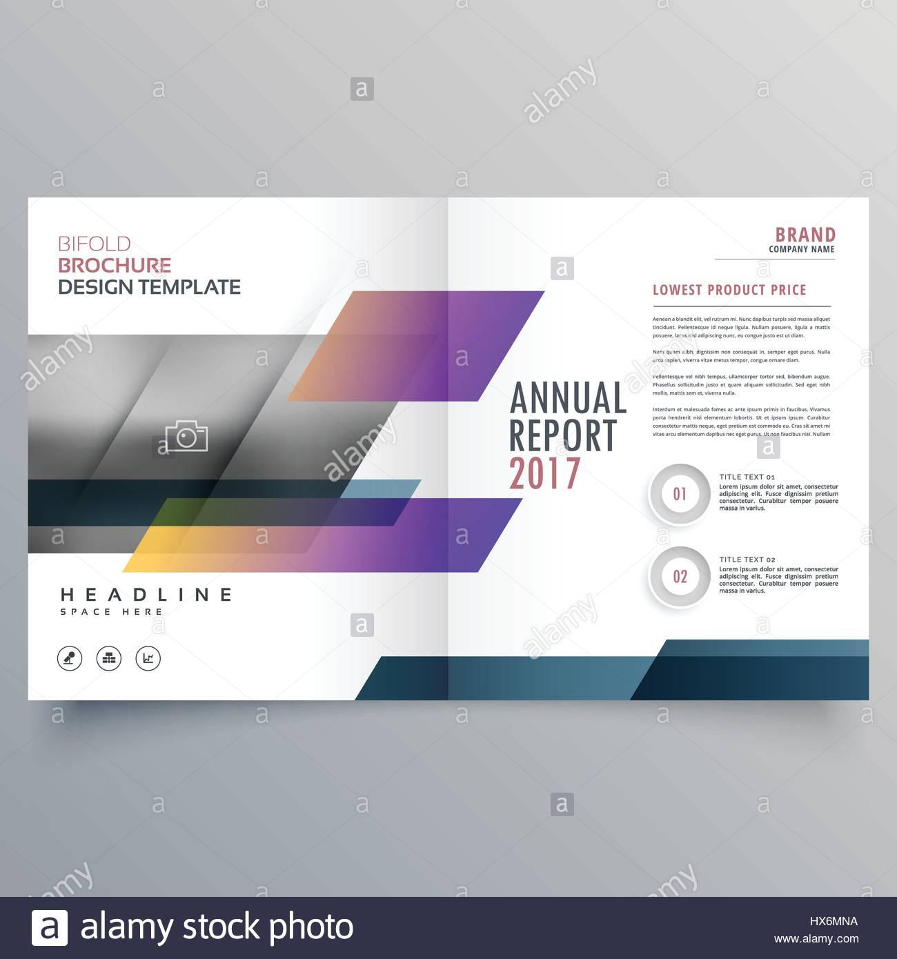 stilvolle Magazin Heft Broschüre Design Promotion-Vorlage Vektor ...