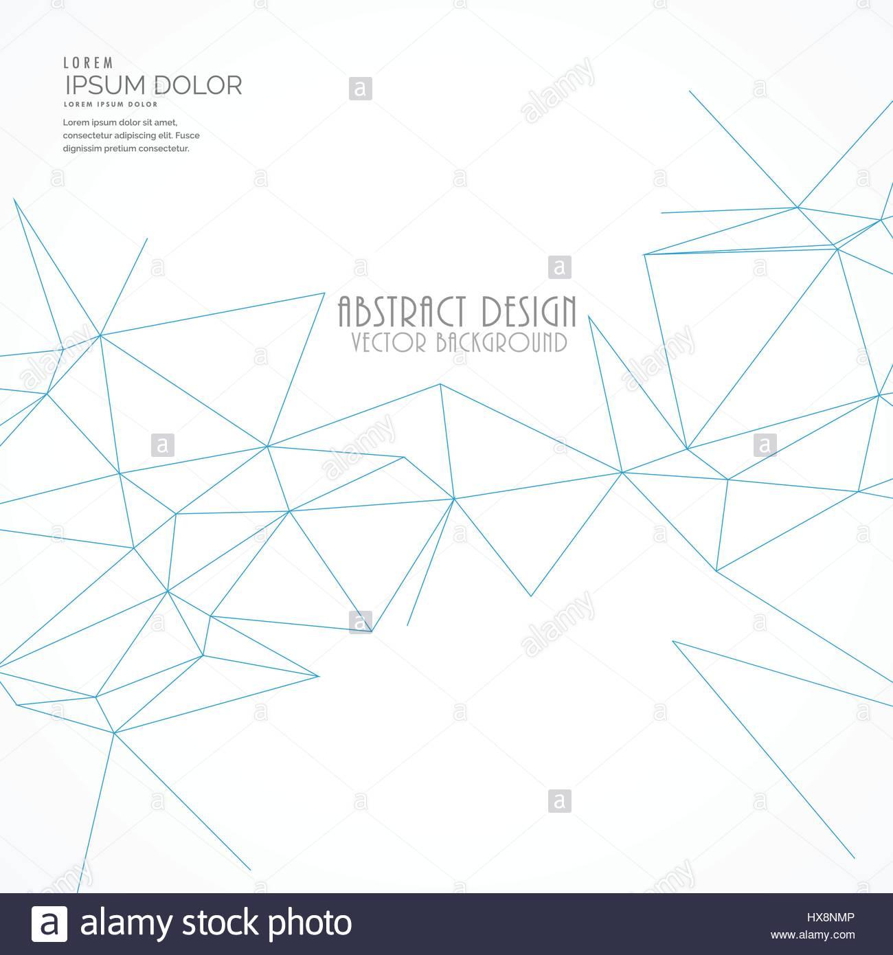 abstrakte Linien Hintergrund-Maschendraht Vektor Abbildung - Bild ...