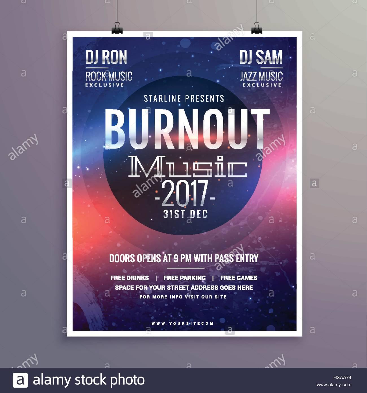 Musik Flyer Broschüre Plakat Vorlage für Ihre Musik-Event-party ...