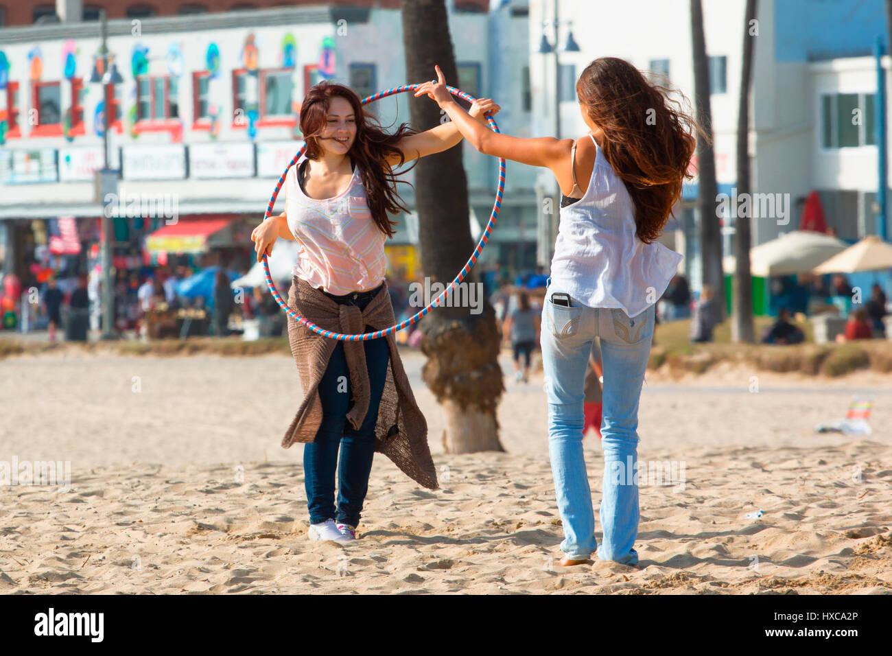 Venice Beach in Los Angeles Stockbild