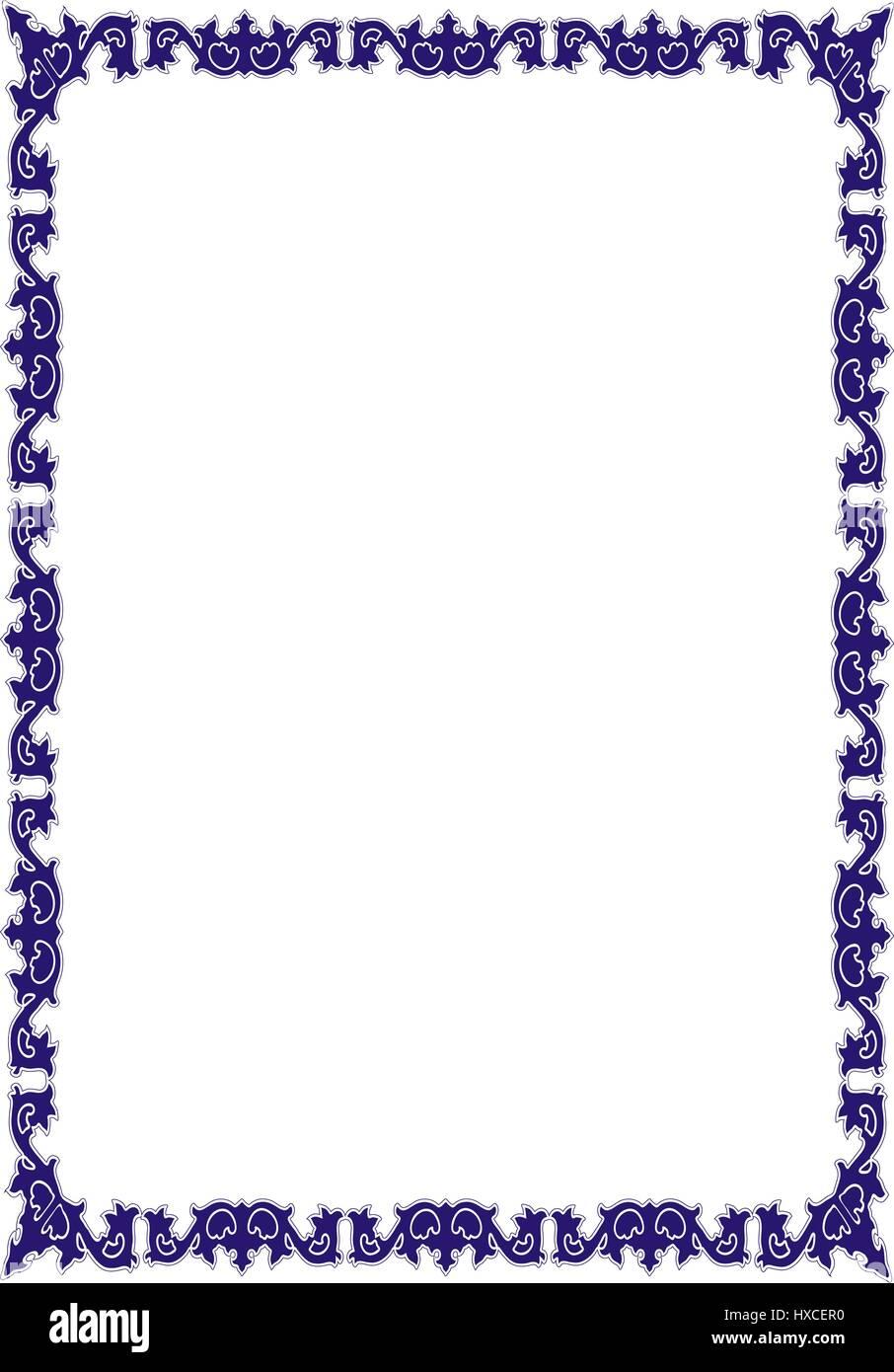 Very Decorative Certificate Stockfotos & Very Decorative Certificate ...