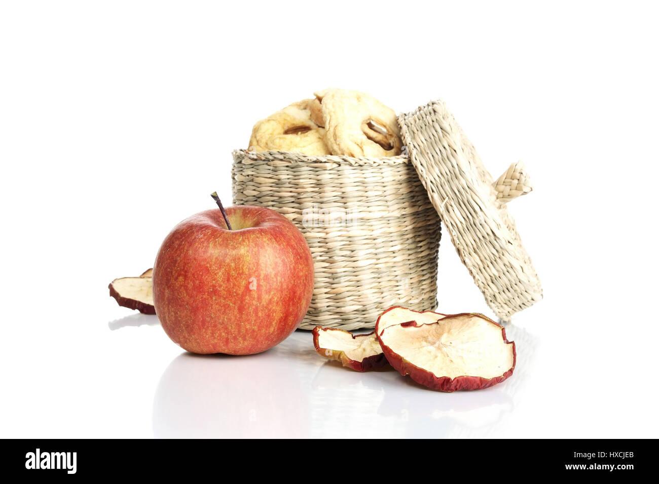 Apfelringe, Apfelringe Stockfoto
