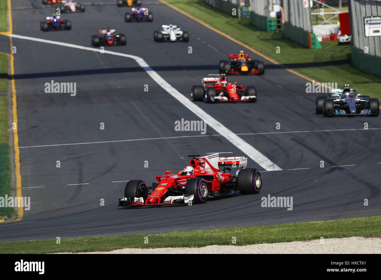 Melbourne, Australien. 26. März 2017. Motorsport: FIA Formel 1 Weltmeisterschaft 2017, Grand Prix von Australien, Stockfoto