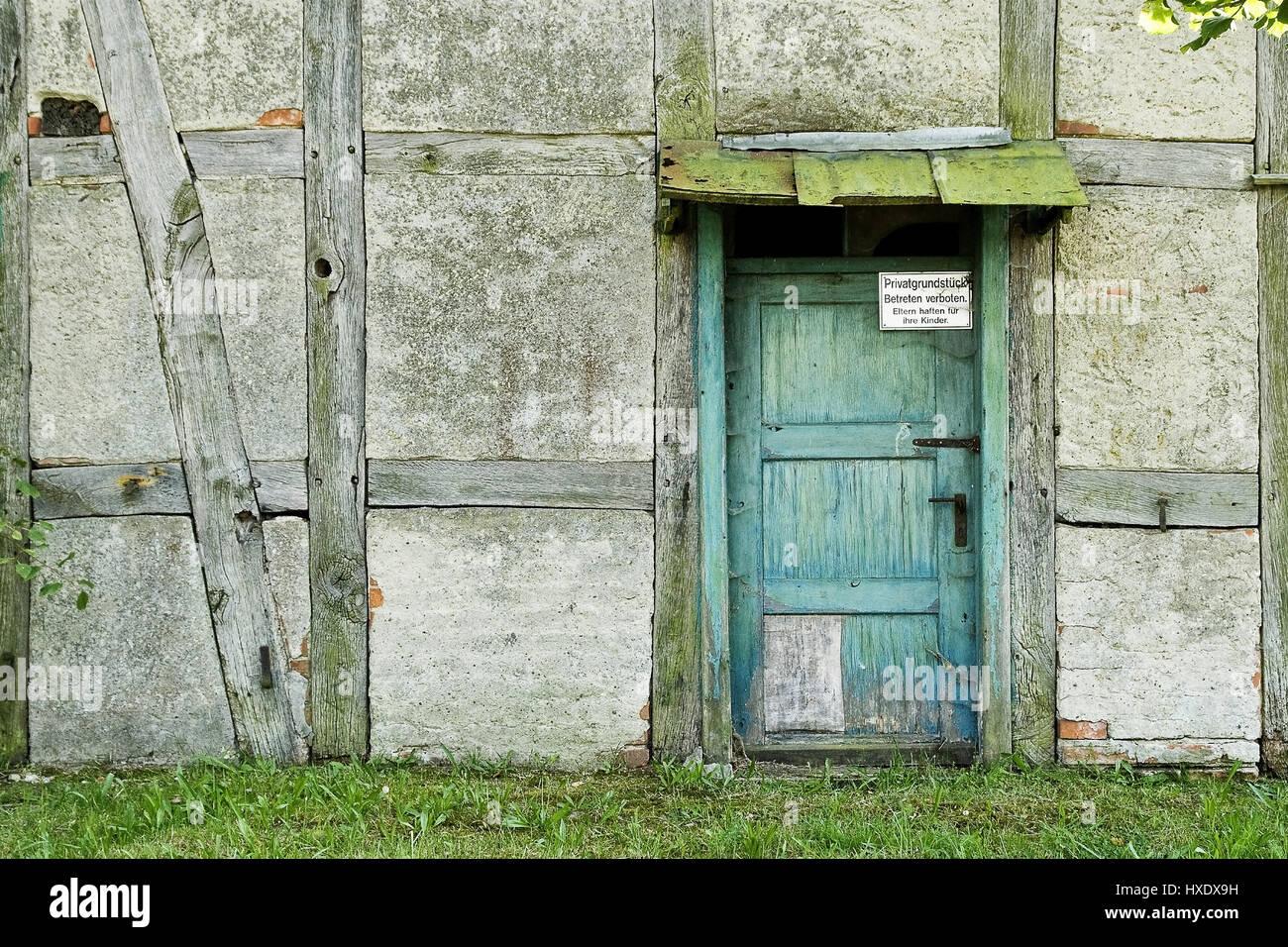 Fabulous Alte Haustür von einem Fachwerkhaus | Alten führt Statut Arbeit PD66