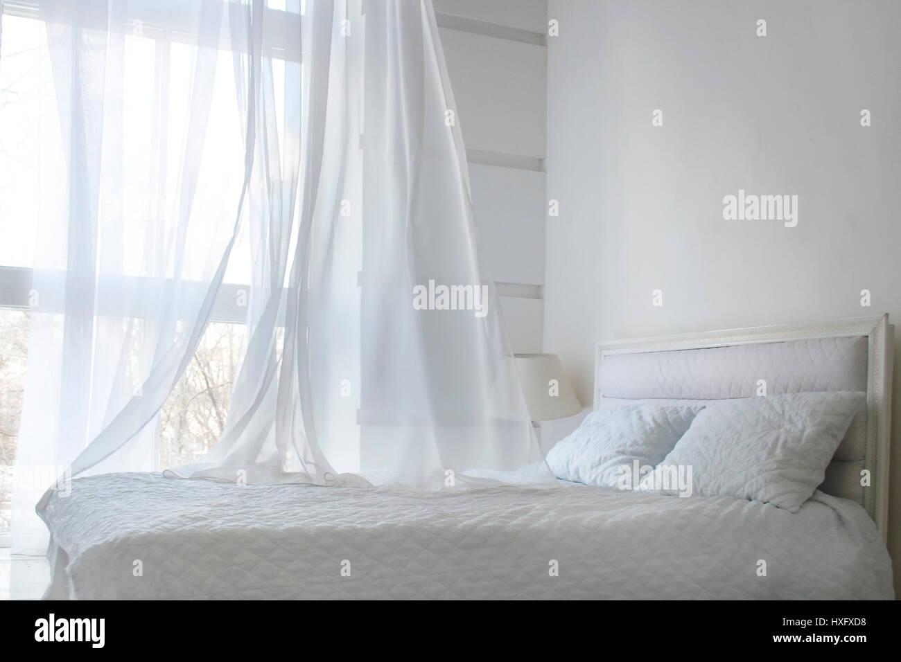 Weißer Vorhang Stockfotos Weißer Vorhang Bilder Alamy