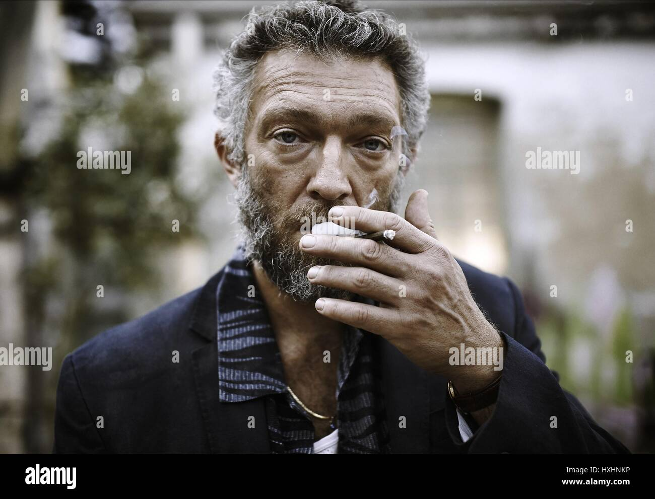 VINCENT CASSEL PARTISAN (2015) Stockbild