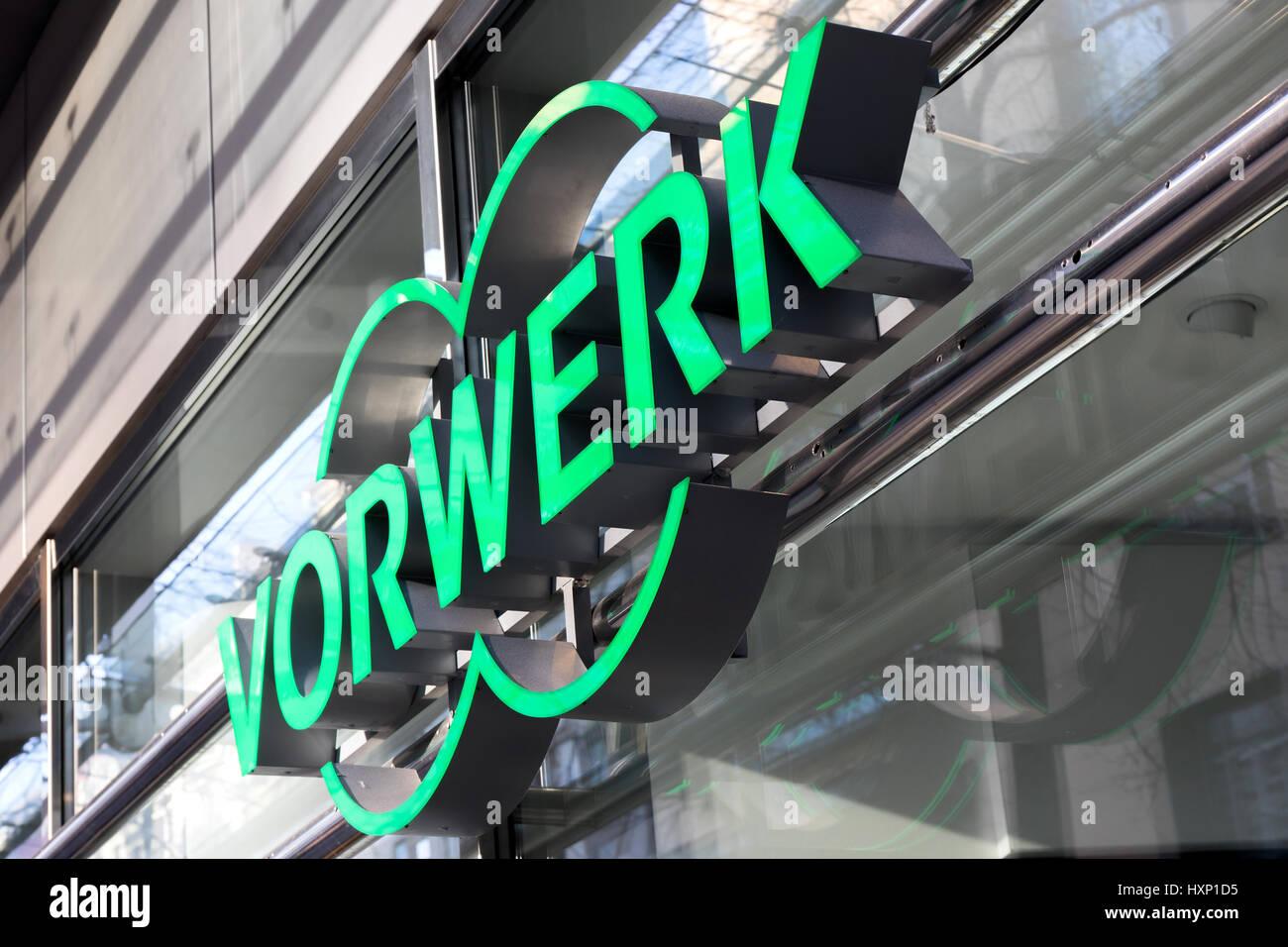 Vorwerk Shop Logo. Vorwerk Verkauft Und Produziert