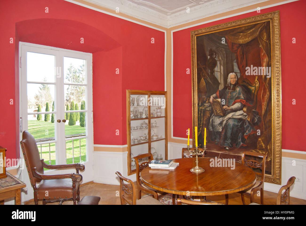 Luxurioses Zimmer Im Altbau Vintage Dekoration Und Innenarchitektur