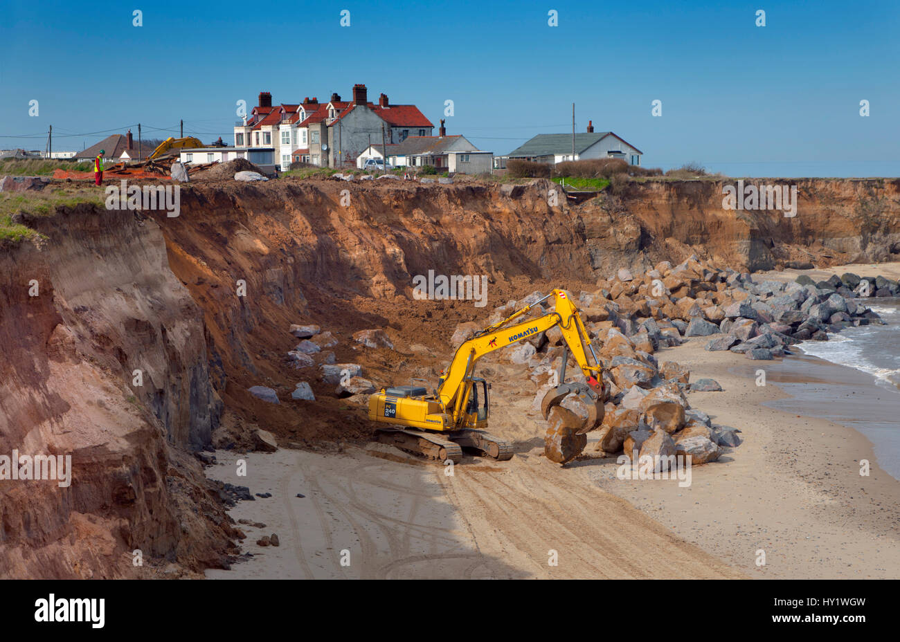 uk excavator stockfotos uk excavator bilder alamy. Black Bedroom Furniture Sets. Home Design Ideas