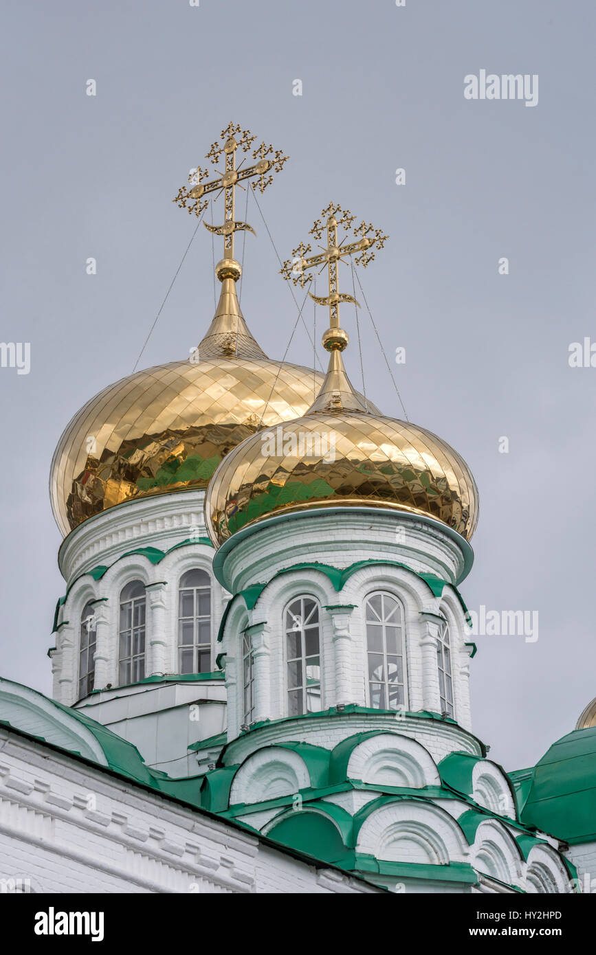 Raifa Kloster Kazan Russland Stockbild