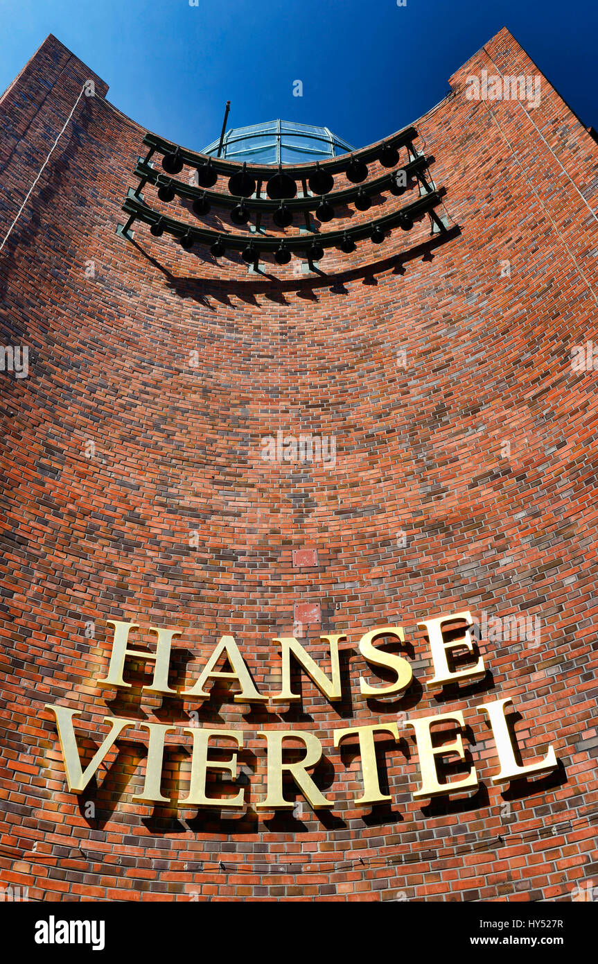 shopping passage hanse viertel in neustadt von hamburg deutschland europa einkaufspassage. Black Bedroom Furniture Sets. Home Design Ideas