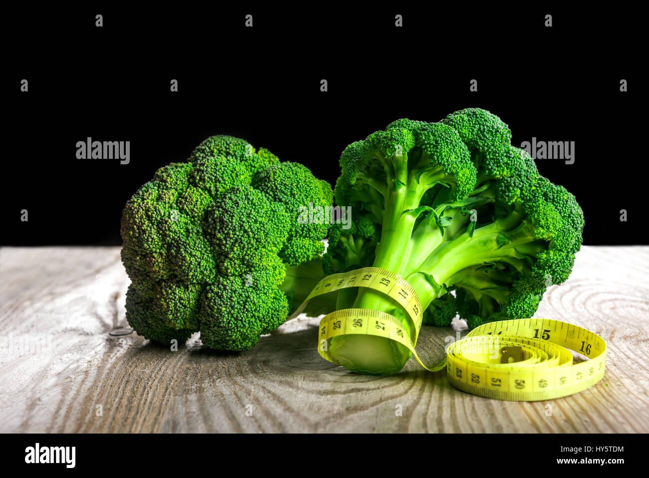 Gemüse-Diät zur Gewichtsabnahme Stockbild