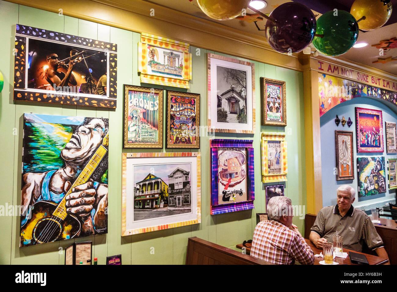 Winter Park Orlando Florida Tibby New Orleans Küche Restaurant innen ...