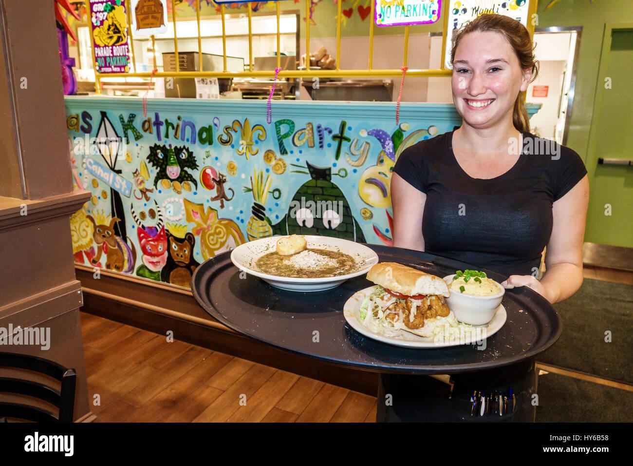 New Orleans Küche | Winter Park Orlando Florida Tibby New Orleans Kuche Restaurant Innen