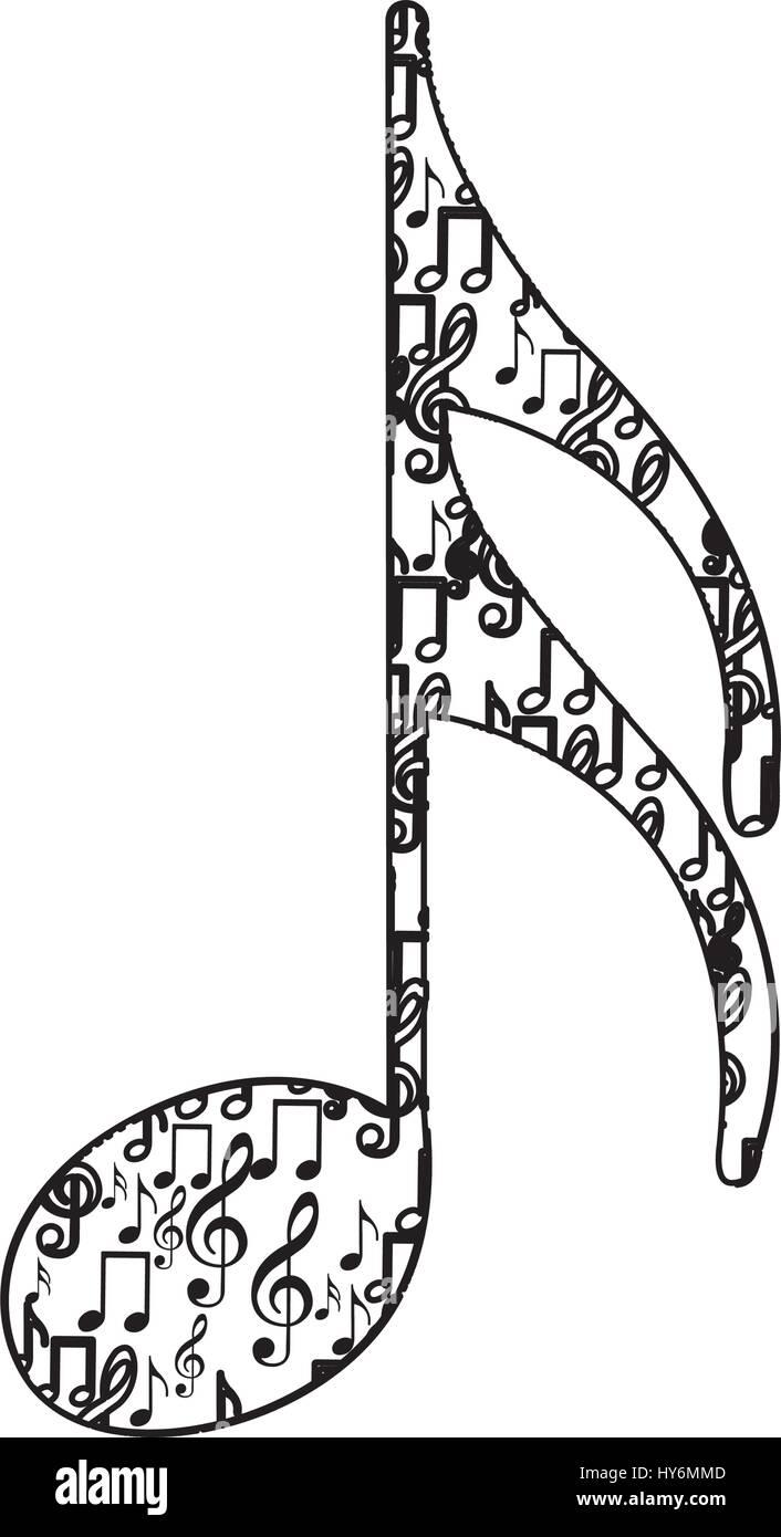 musical notes vector stockfotos & musical notes vector