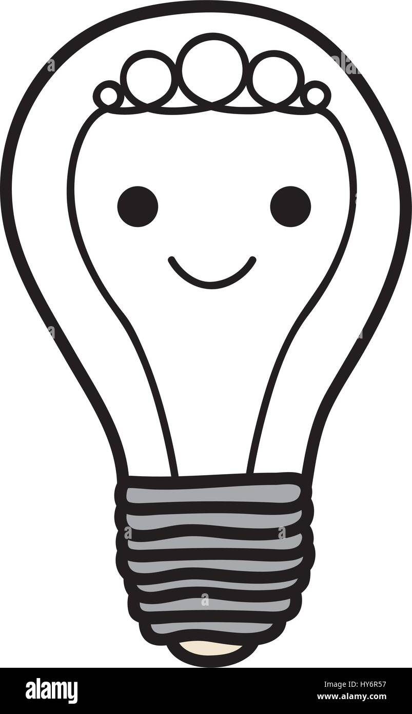 Halogen Lamp Icon In Flat Stockfotos & Halogen Lamp Icon In Flat ...