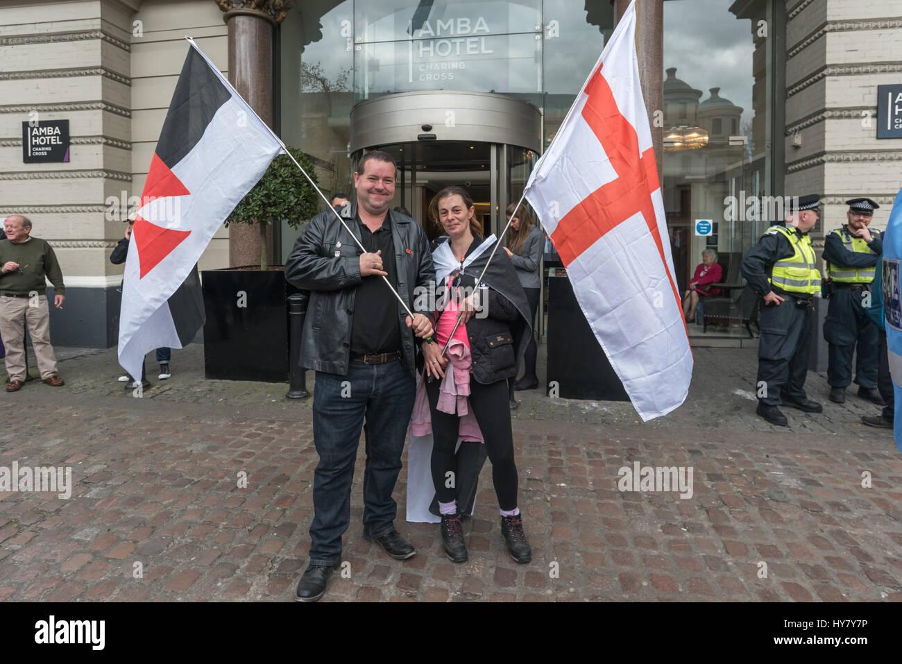 London, UK  1  April 2017  London, UK  1  April 2017