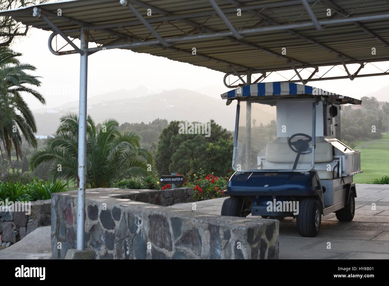 Mini Golf Cart Auto Stockfoto Bild 137252529 Alamy