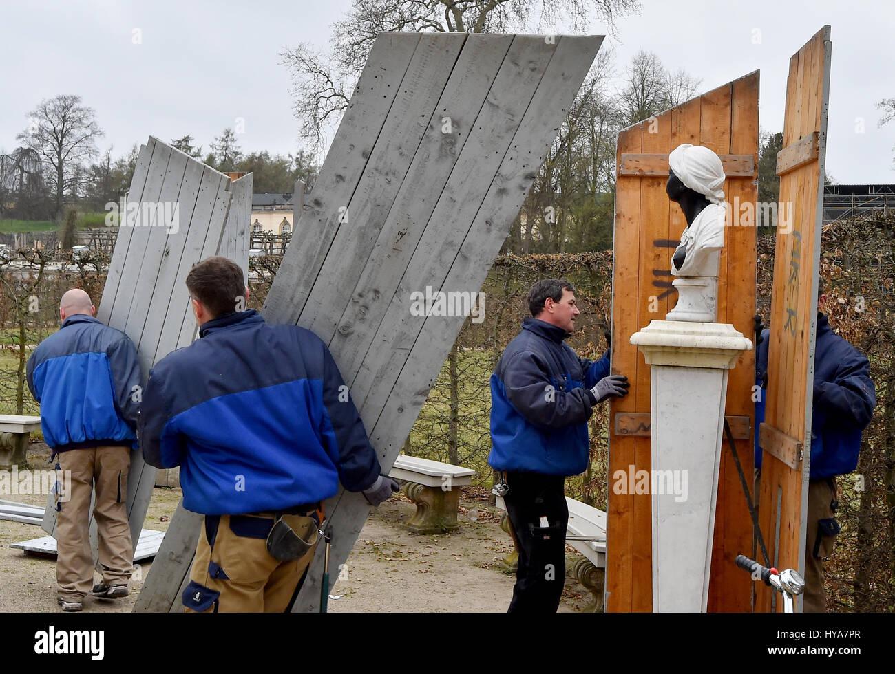 Tischler Potsdam potsdam deutschland 3 april 2017 tischler am kabelbaum yard in
