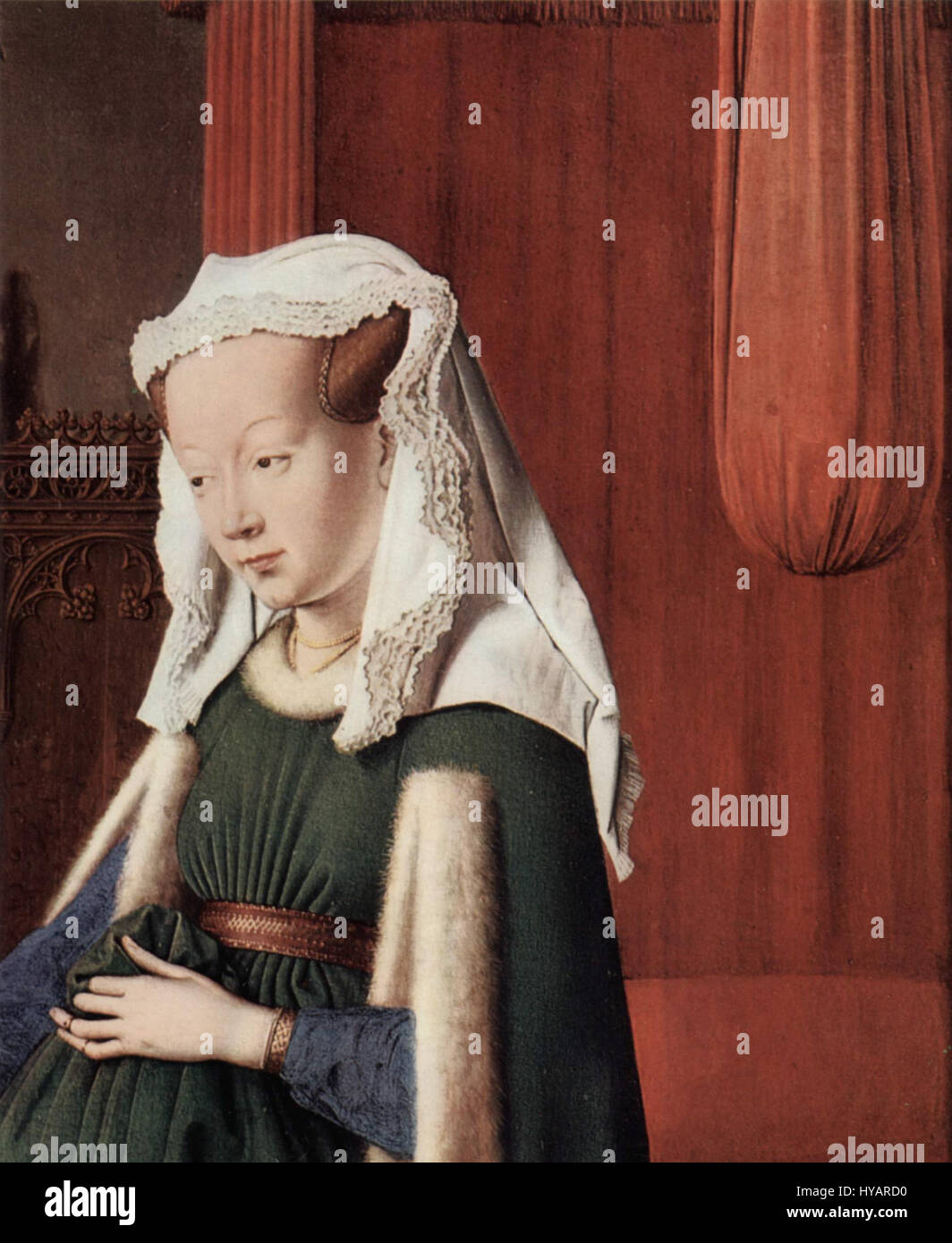 Jan Van Eyck 006 Stockfoto