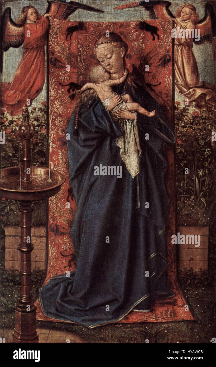 Jan Van Eyck 053 Stockfoto