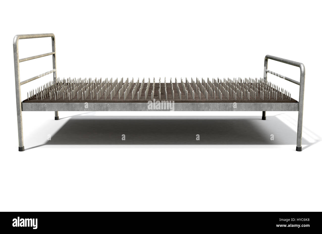 Metal Bed Frame Stockfotos & Metal Bed Frame Bilder - Alamy