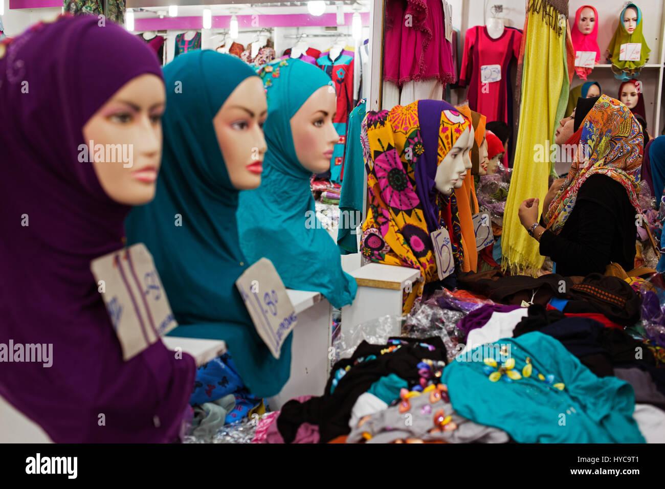 LUXURY Jersey Hijab in WHITE with Swarovski Crystals