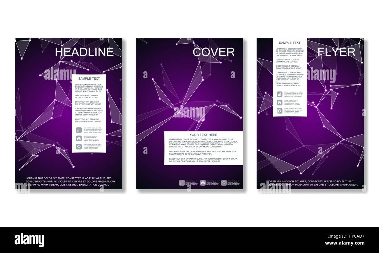 Broschüre Vorlage Layout, Flyer, Cover, Jahresbericht, Magazin im A4 ...