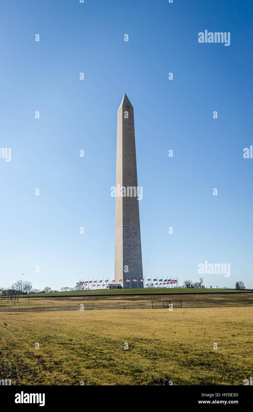 Washington Monument - Washington, D.C., USA Stockbild