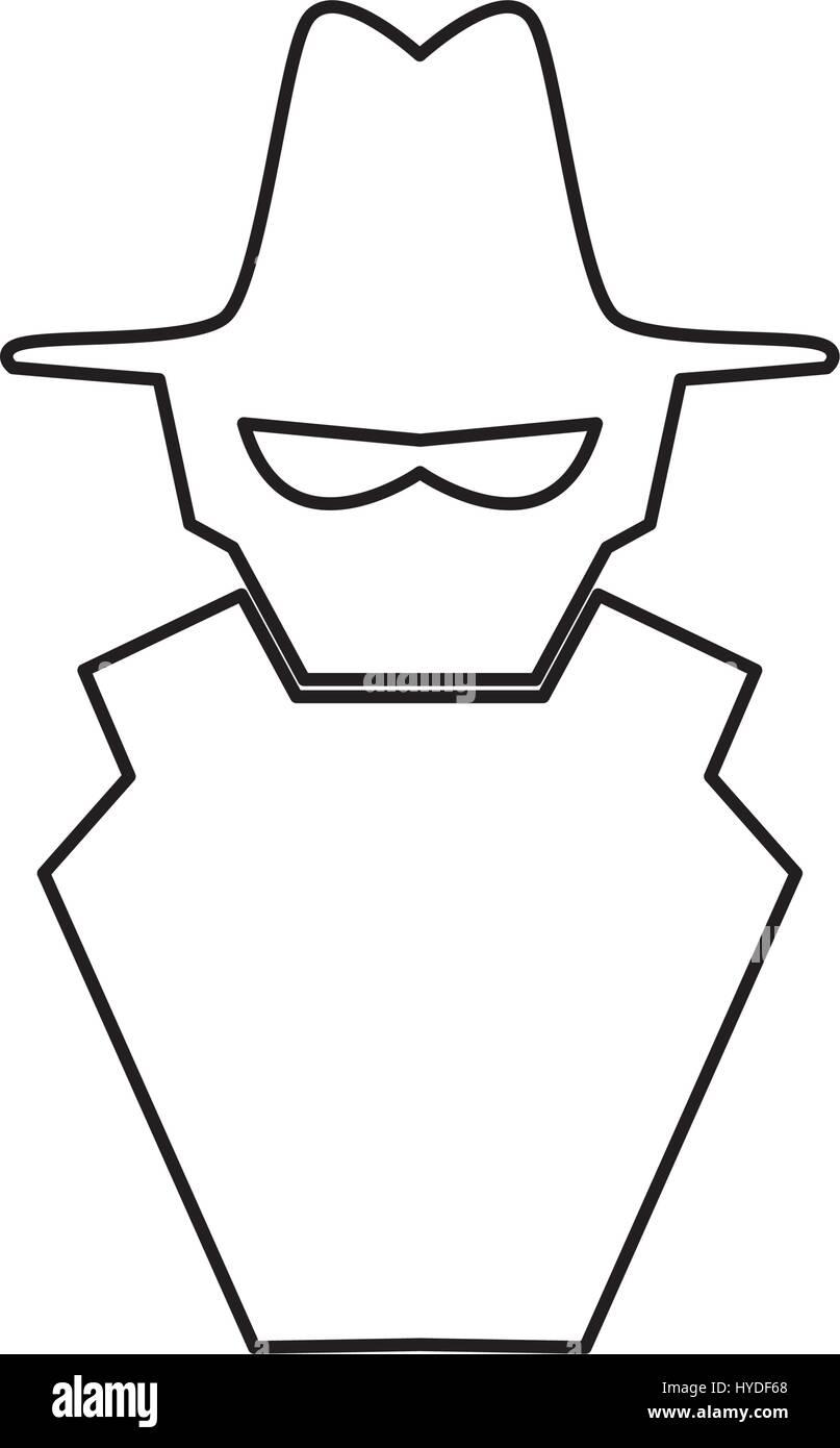 Malware-Spyware-symbol Stockbild