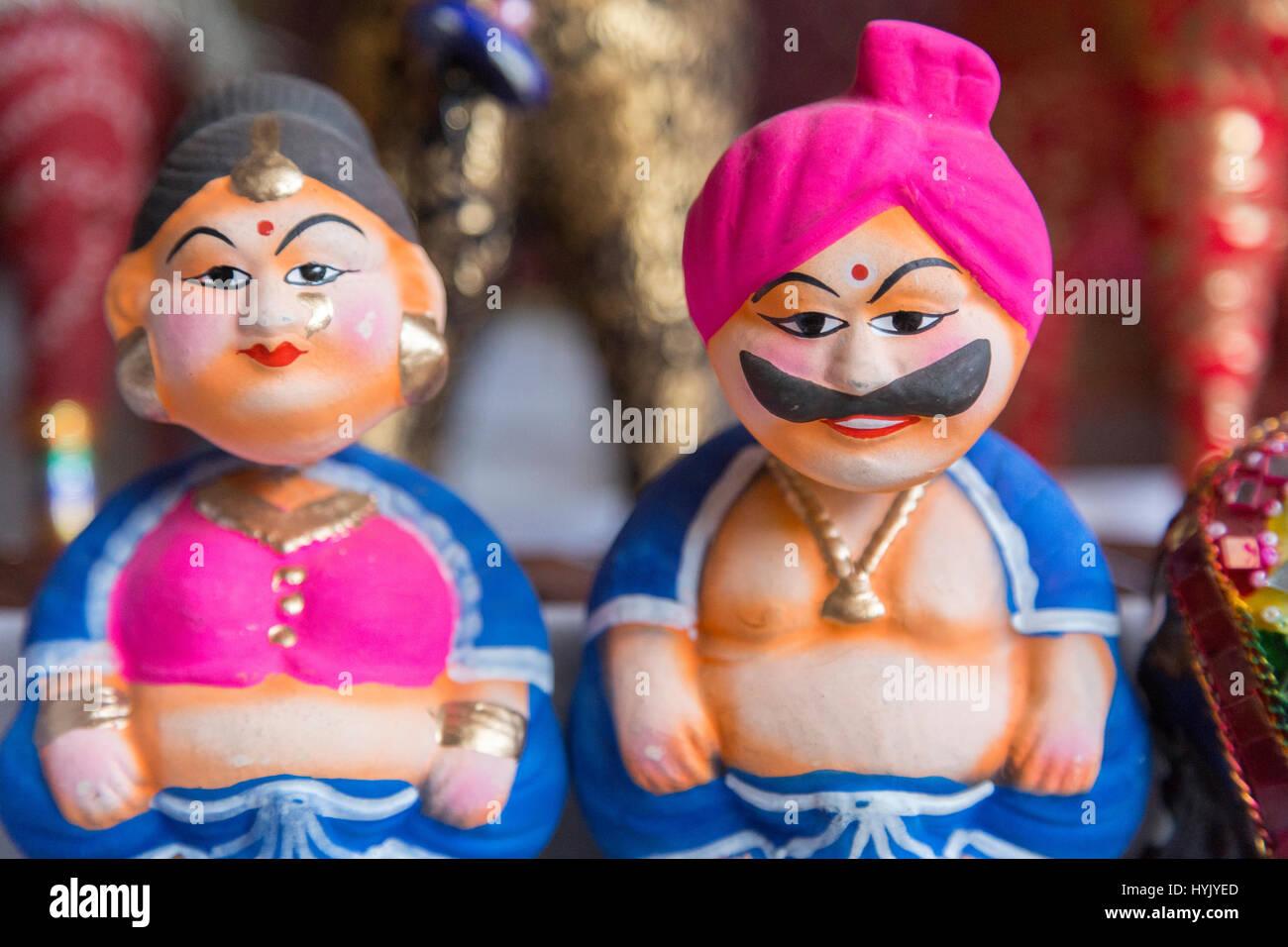 Souvenirs, Jaipur, Rajasthan, Indien Stockbild