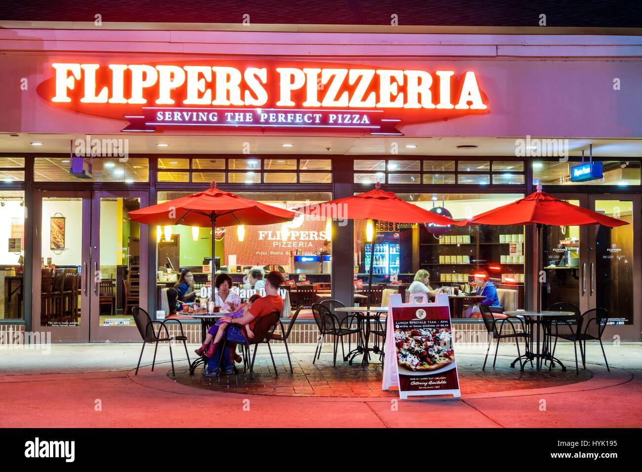 Orlando Florida Kreuzung Von Lake Buena Vista Restaurant Shopping