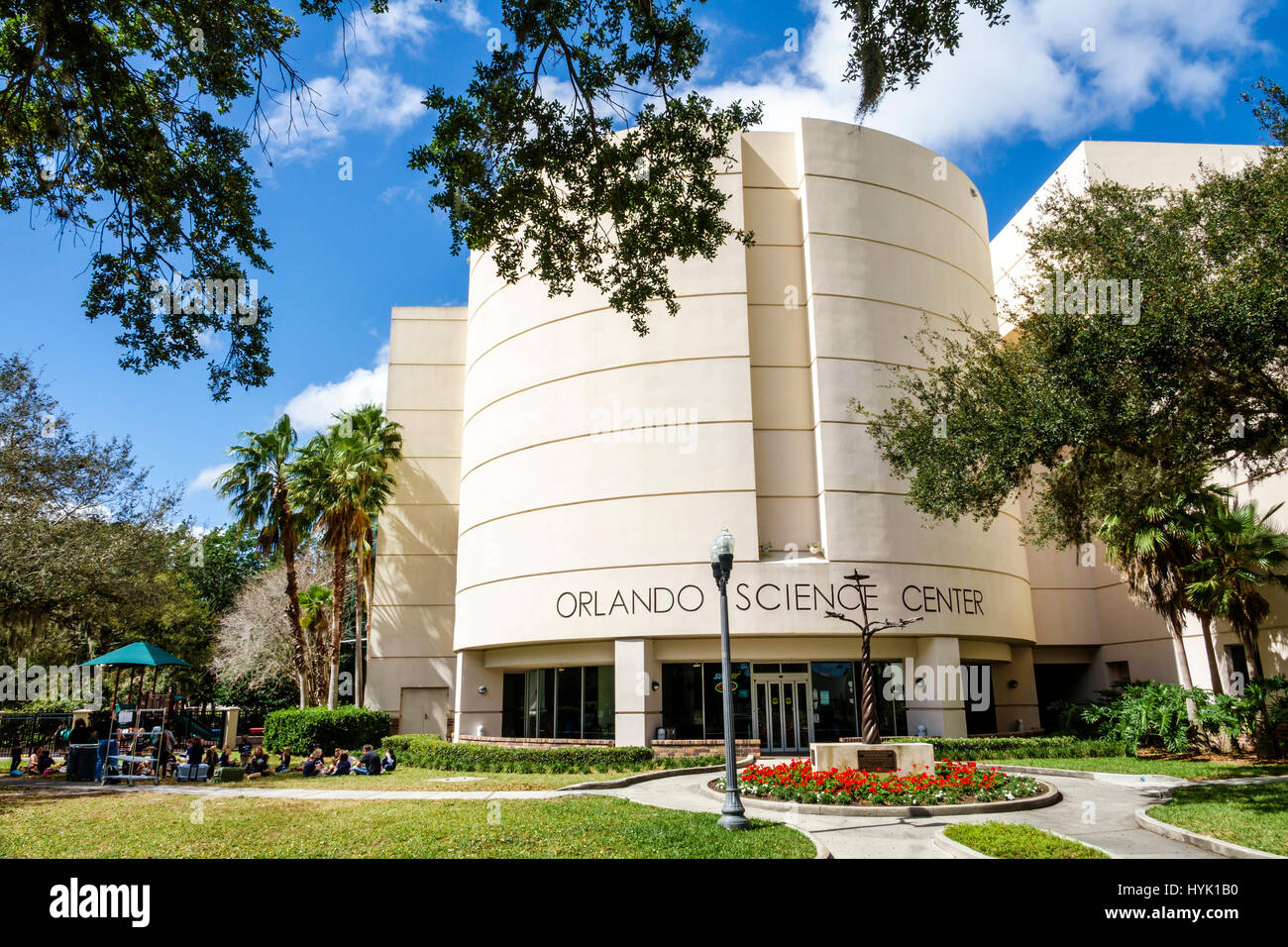 Kulturpark Loch Haven Park in Orlando Florida Orlando Science Center ...