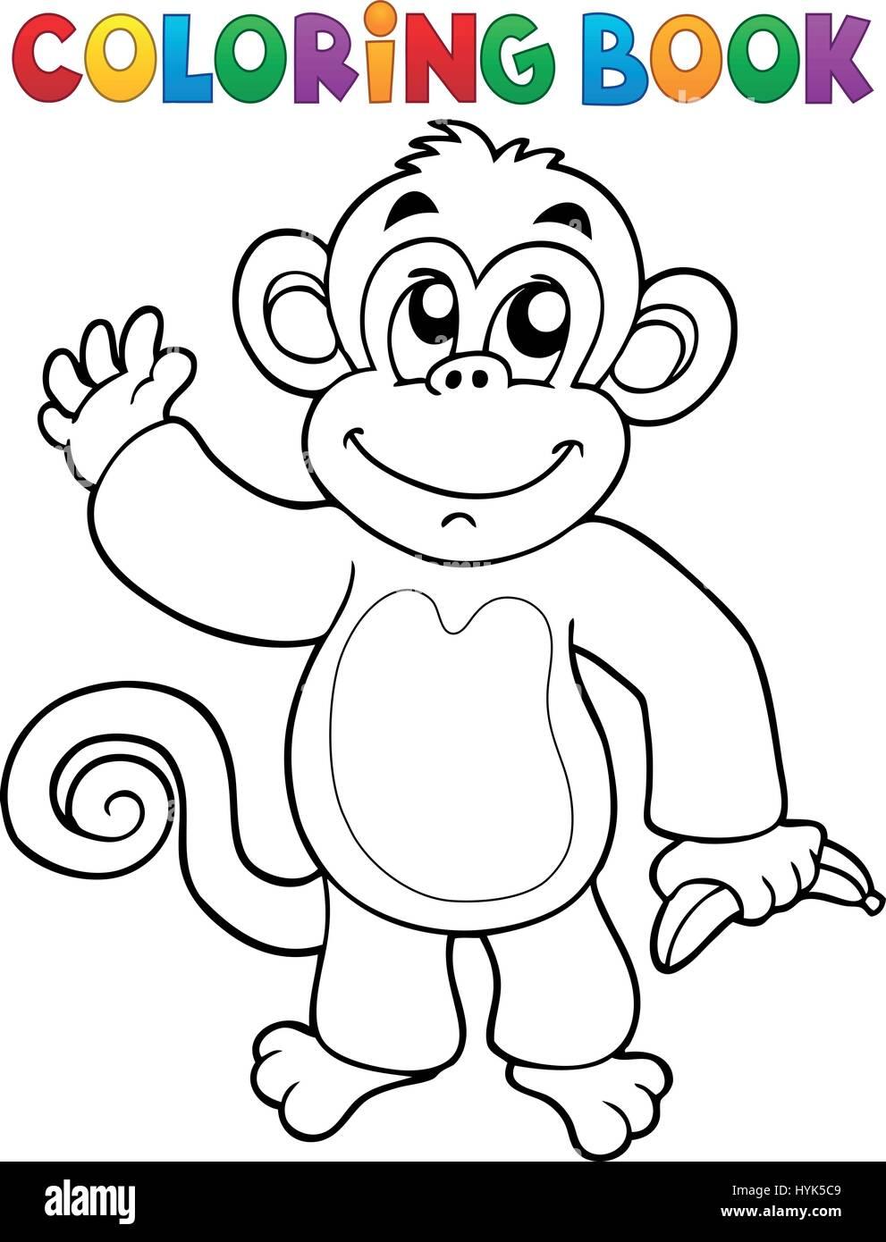 Erfreut Malvorlagen Von Affen Bilder - Druckbare Malvorlagen ...