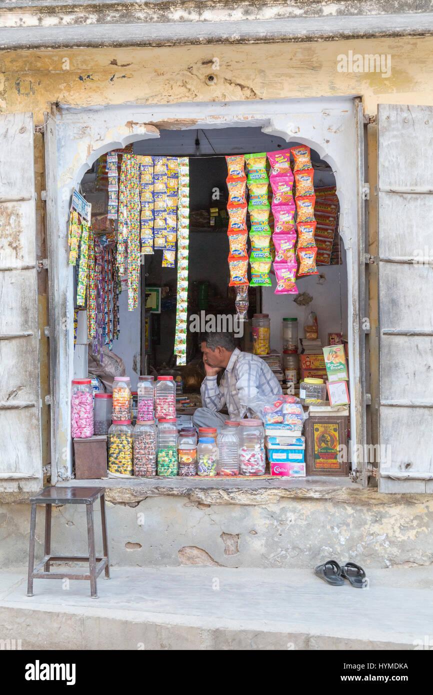 Samode, Jaipur, Rajasthan, Indien Stockbild