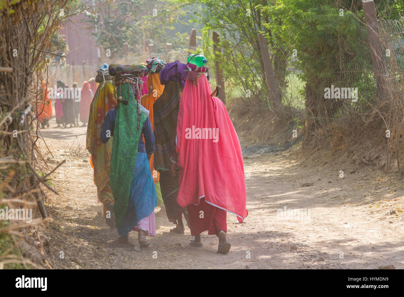 Ranthambhore, Rajasthan, Indien Stockbild