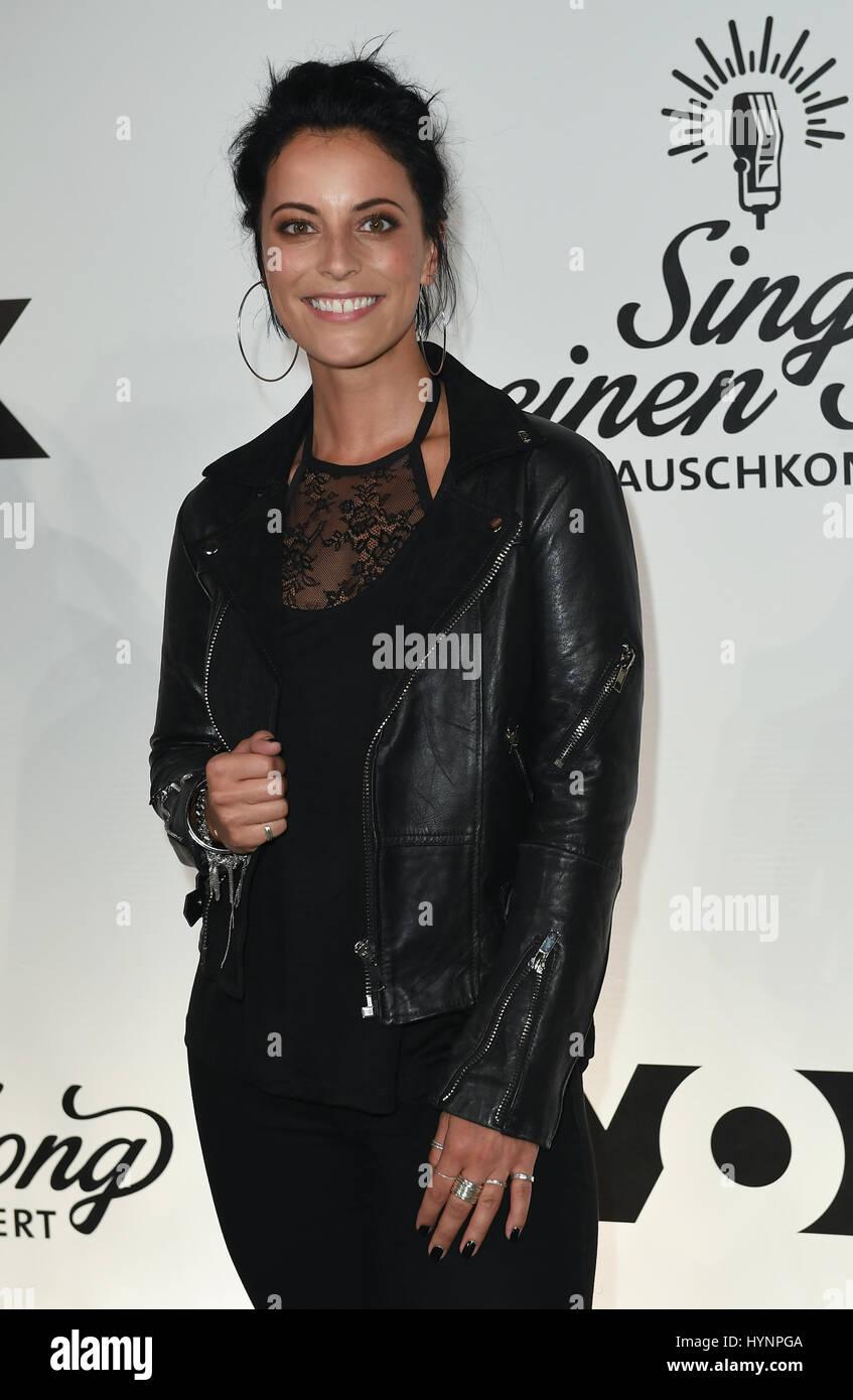Berlin Deutschland 5 April 2017 Sängerin Stefanie Kloss Gesehen