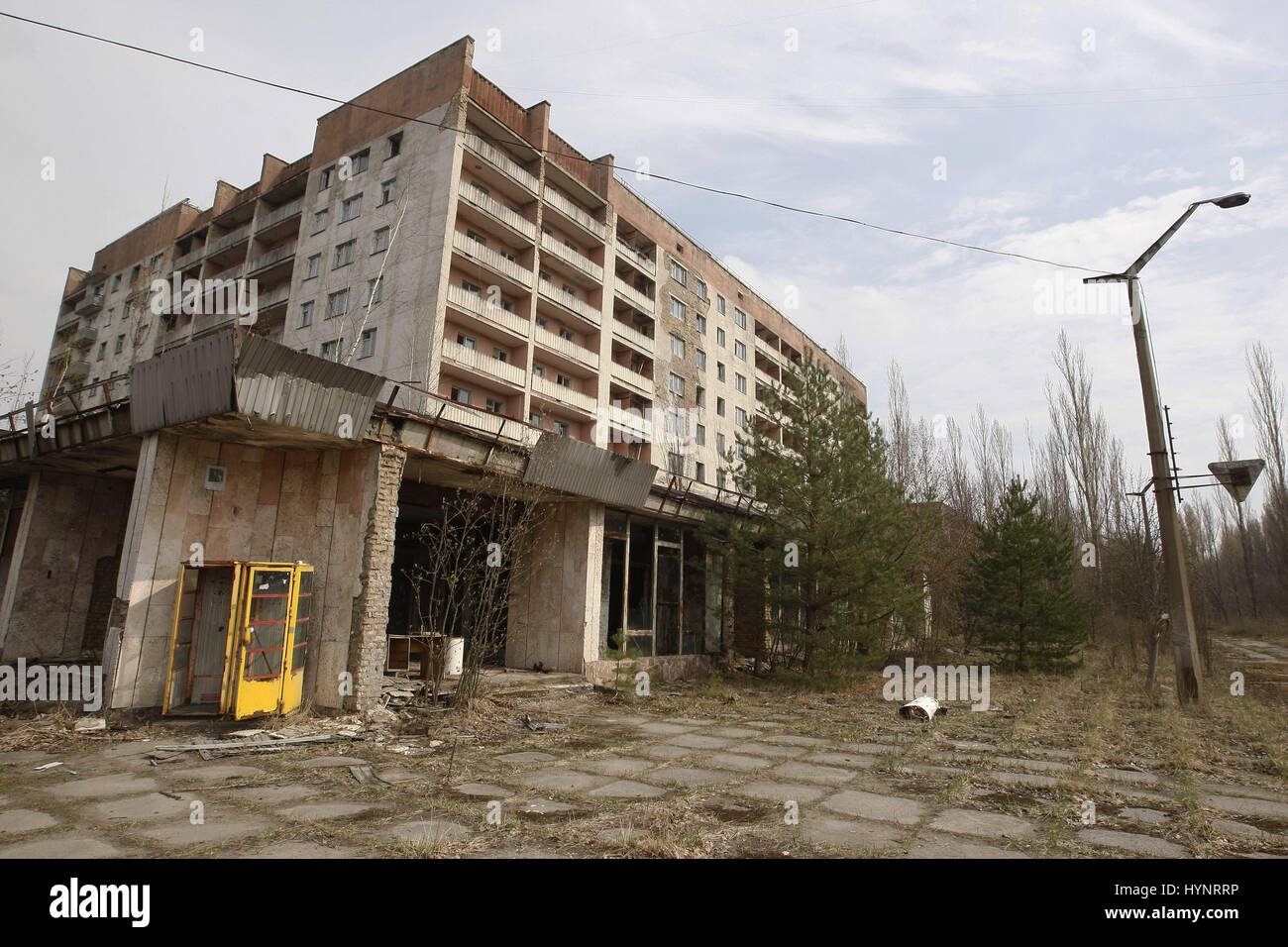 Kiew, Ukraine. 5. April 2017. Die verlassenen Stadt Pripjat-Stadt ...