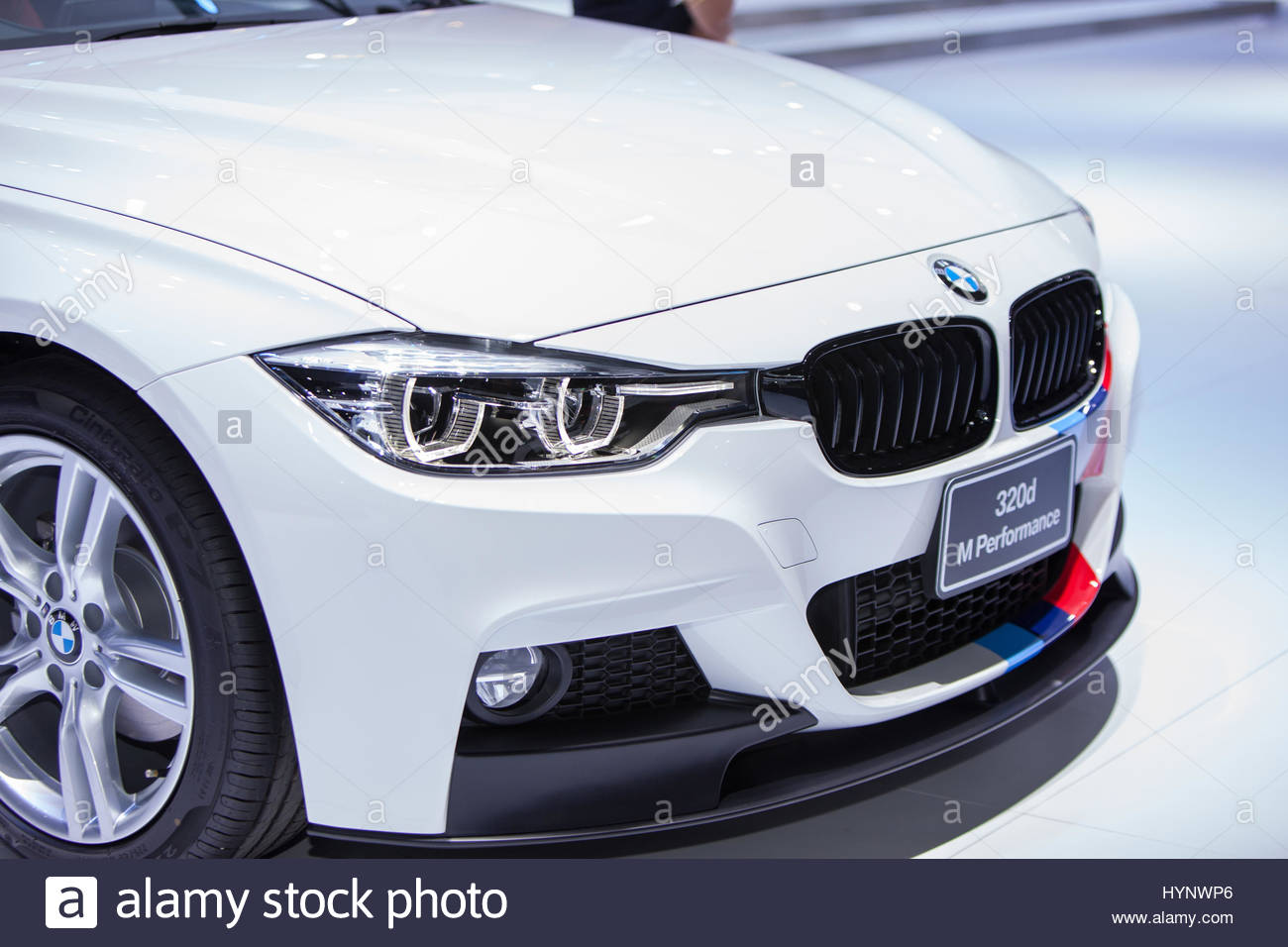 Bangkok Thailand 28 Mar 2017 Closed Bmw 320d M Performance Auto