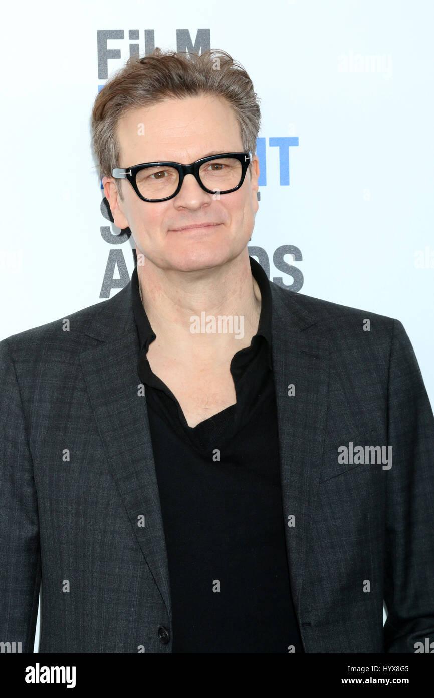 28. Februar 2017 - Santa Monica, CA, USA - LOS ANGELES - 25 FEB: Colin Firth bei der 32. jährlichen Film Independent Stockbild