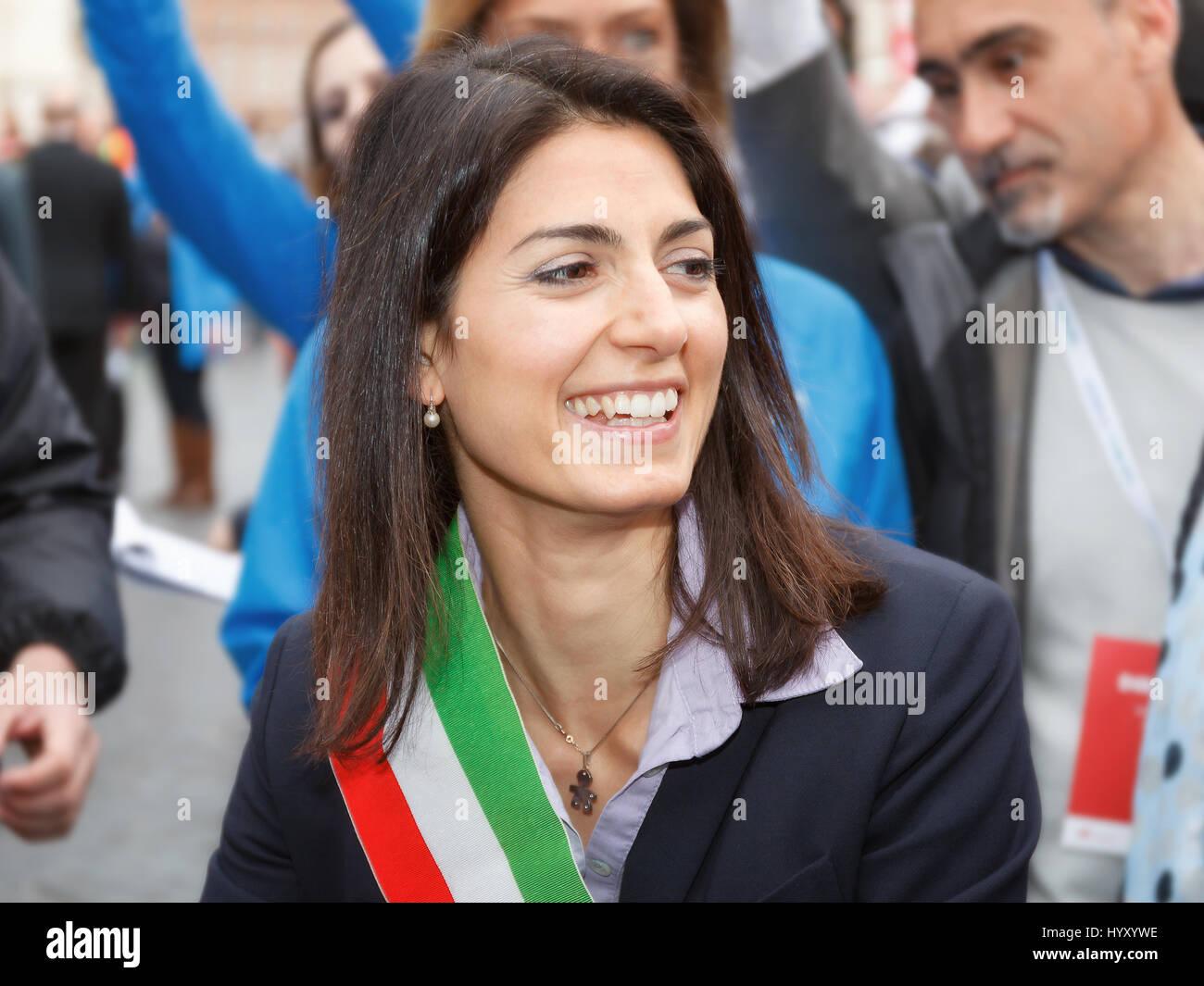 Mayor Virginia Raggi Stockfotos Mayor Virginia Raggi Bilder Alamy