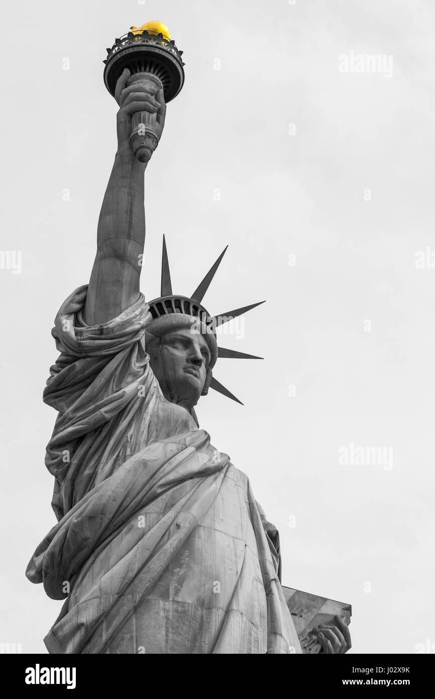 Ungewöhnlich Freiheitsstatue Gesicht Färbung Seite Zeitgenössisch ...